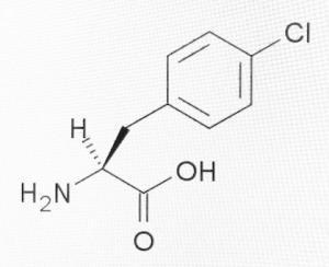 fenclonine molecule